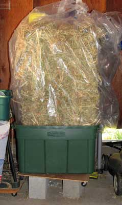 perfect hay storage